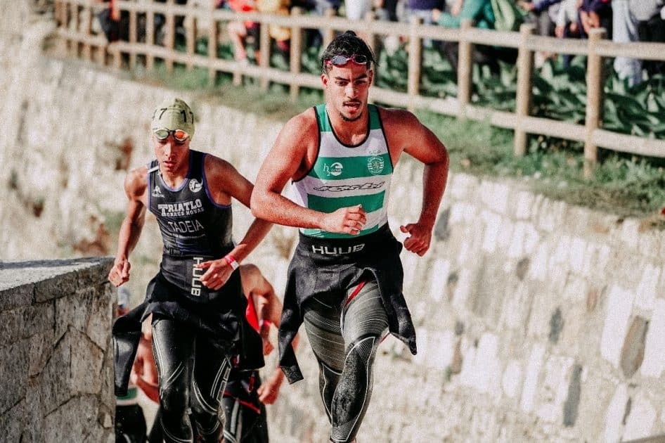 What are the numerous events during a triathlon