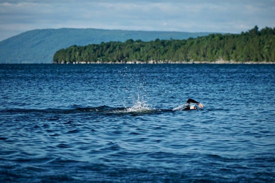 Conquering the Swimming Stage of a Triathlon